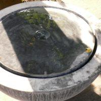 Springbrunnen aus Zink